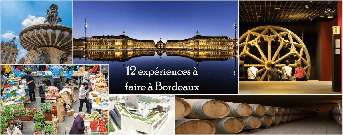 12 expérience à faire à Bordeaux